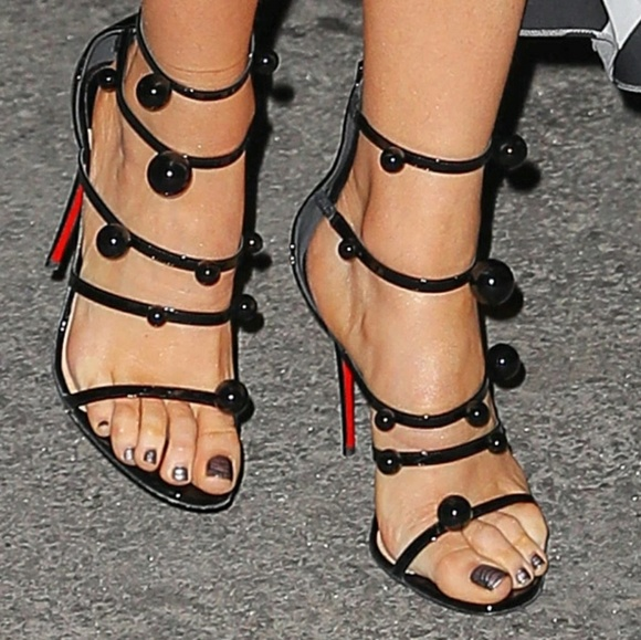 9c9340c6a683 New Christian Louboutin Atonana Ornament Sandal